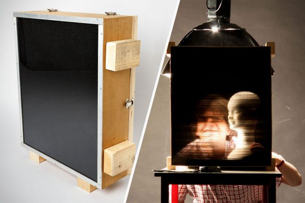 Straw Camera by Michael Farrell & Cliff Haynes