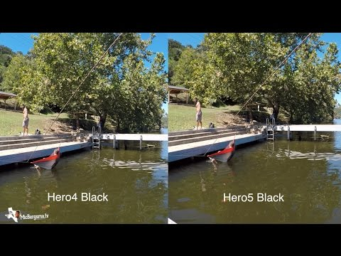 Gopro Hero 5 Vs Hero 4 >> Video Hero5 Black Vs Hero4 Black Quality Sharpness Comparison
